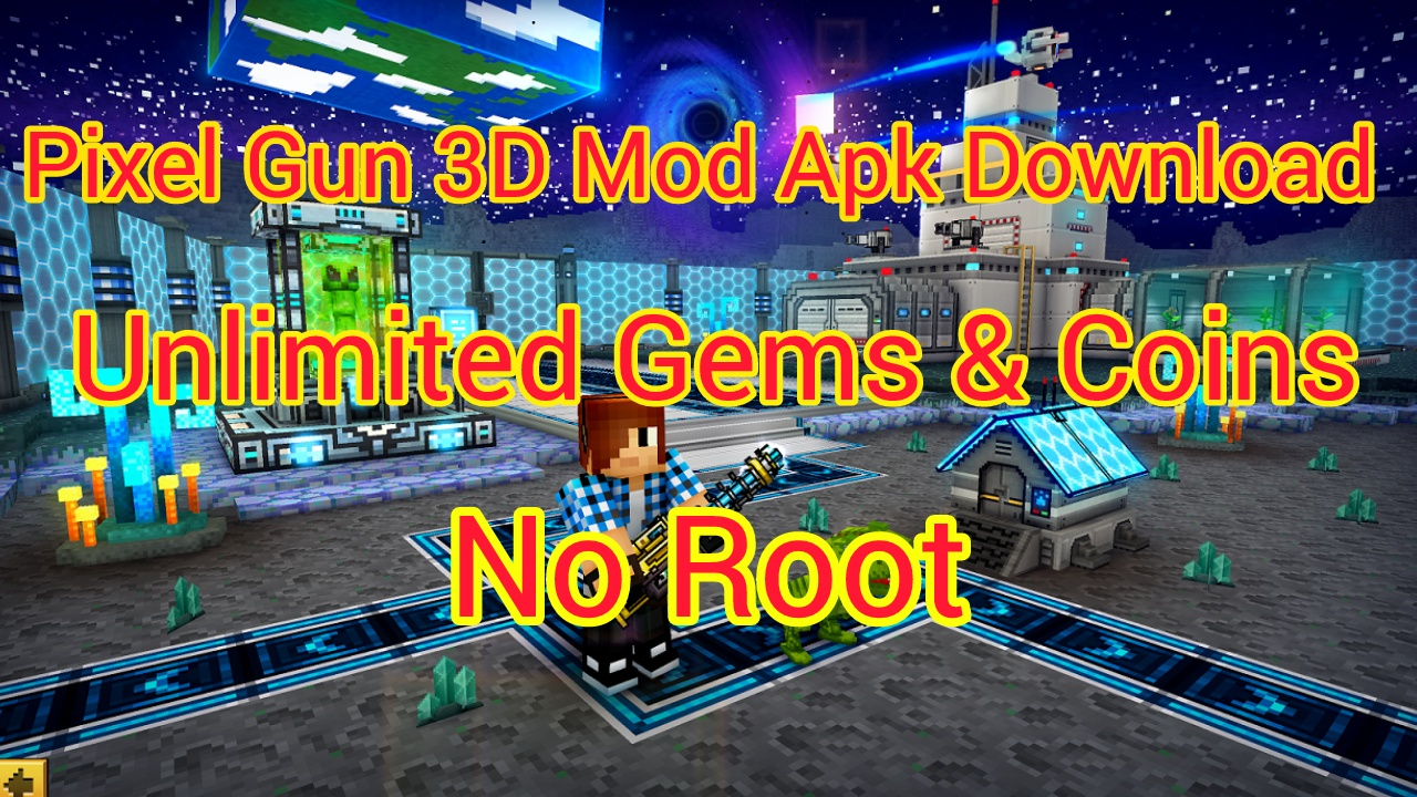 pixel gun 3d hack coins and gems android