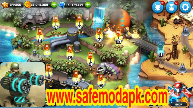 Alien Creeps TD Mod Apk For Android