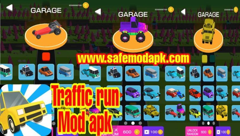 Traffic Run Mod Apk Download