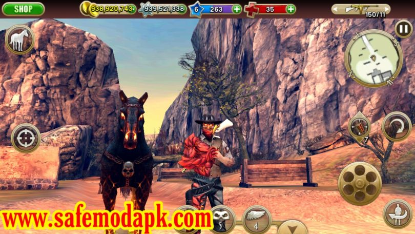 Six-Guns Gang Showdown Mod Apk For Android