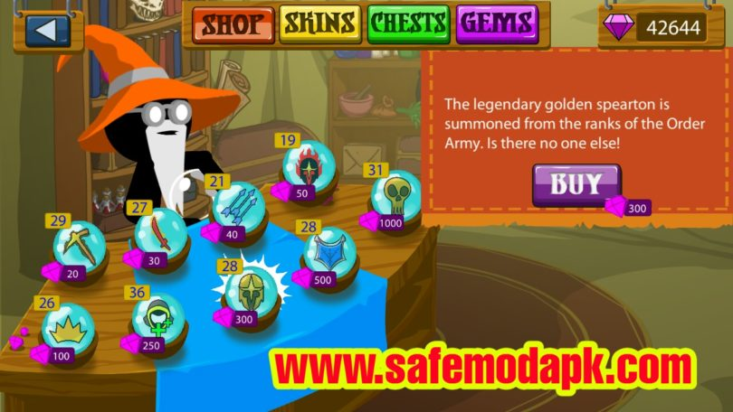 Stick War Legacy Apk + Mod (Unlimited MoneyGems) For Android