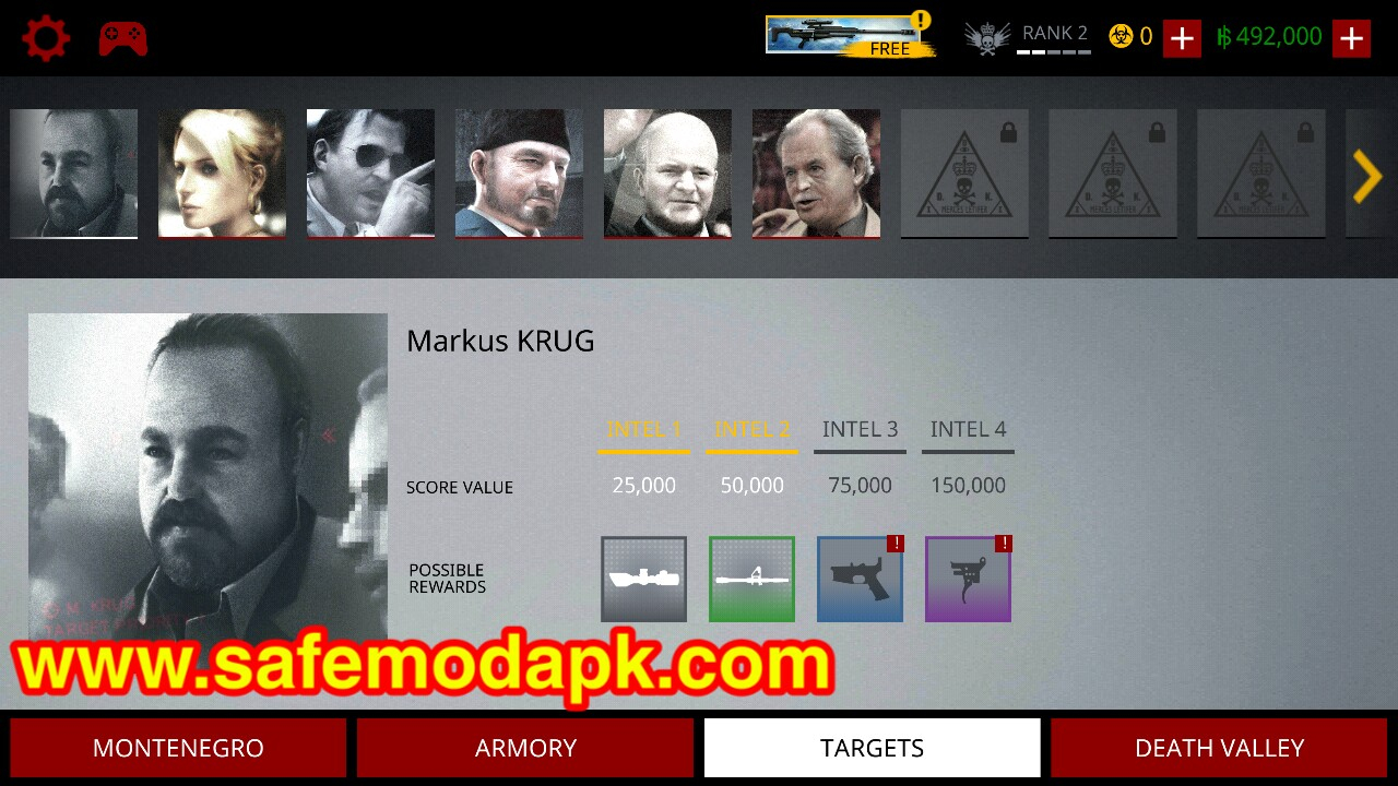 Download Hitman Sniper (Unlimited Money) Mod Apk For Android - 1