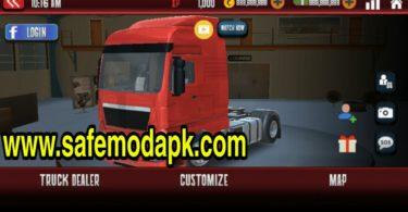Euro Truck Driver Mod 2 Apk+OBB+MOD OFFLINE GAME