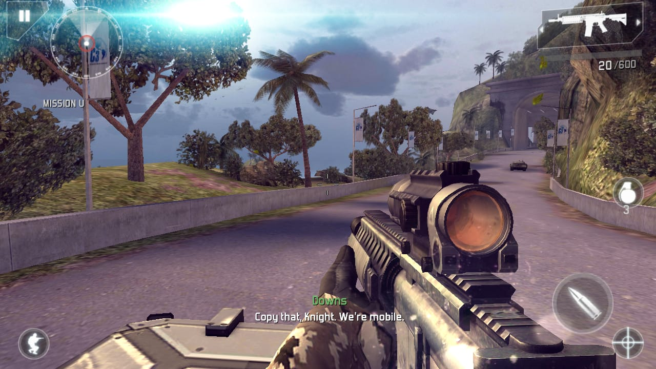 Modern Combat 4 Apk obb Mod For Android-1
