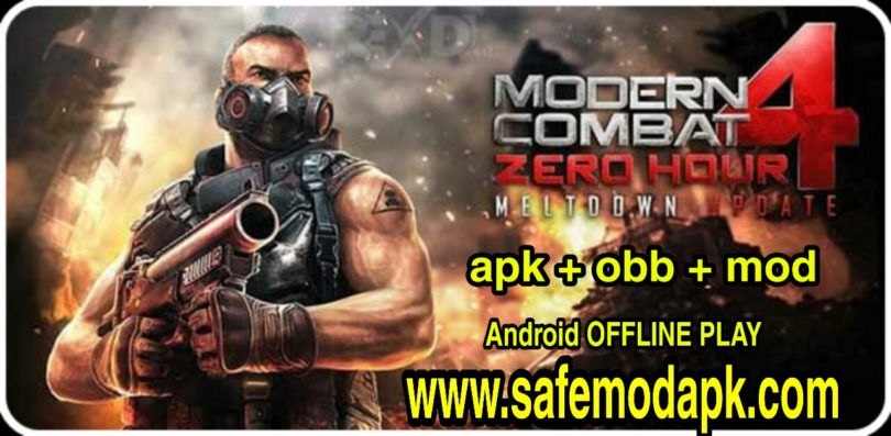 Modern Combat 4 Apk obb Mod For Android