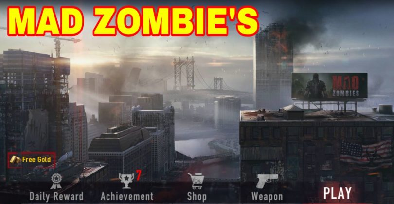 MAD Zombie's Mod Apk For Android